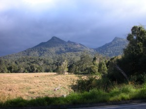 Mount warning Kungar Australia