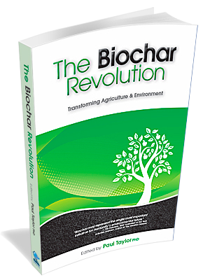 A pic of the book biochar revolution