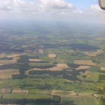 "biochar size matters. A view over the ""bread basket of England"". Agricultural land in Norfolk, UK."