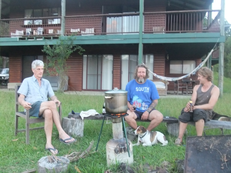 Makeshift cooker charmaster and friends Biochar Tlud called Stumpy Australian biochar project kunghur