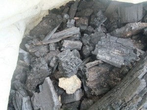 charcoal 300x224 biochar making on a budget with charmaster dolph
