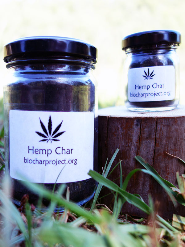 Biochar Industries newest Product the hemp char.