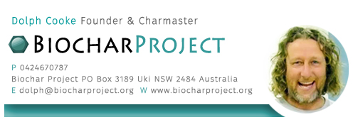 Biocharproject.org charmaster Dolph Cooke