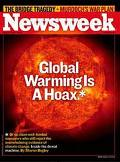 climate change scam picture from NewsWeek
