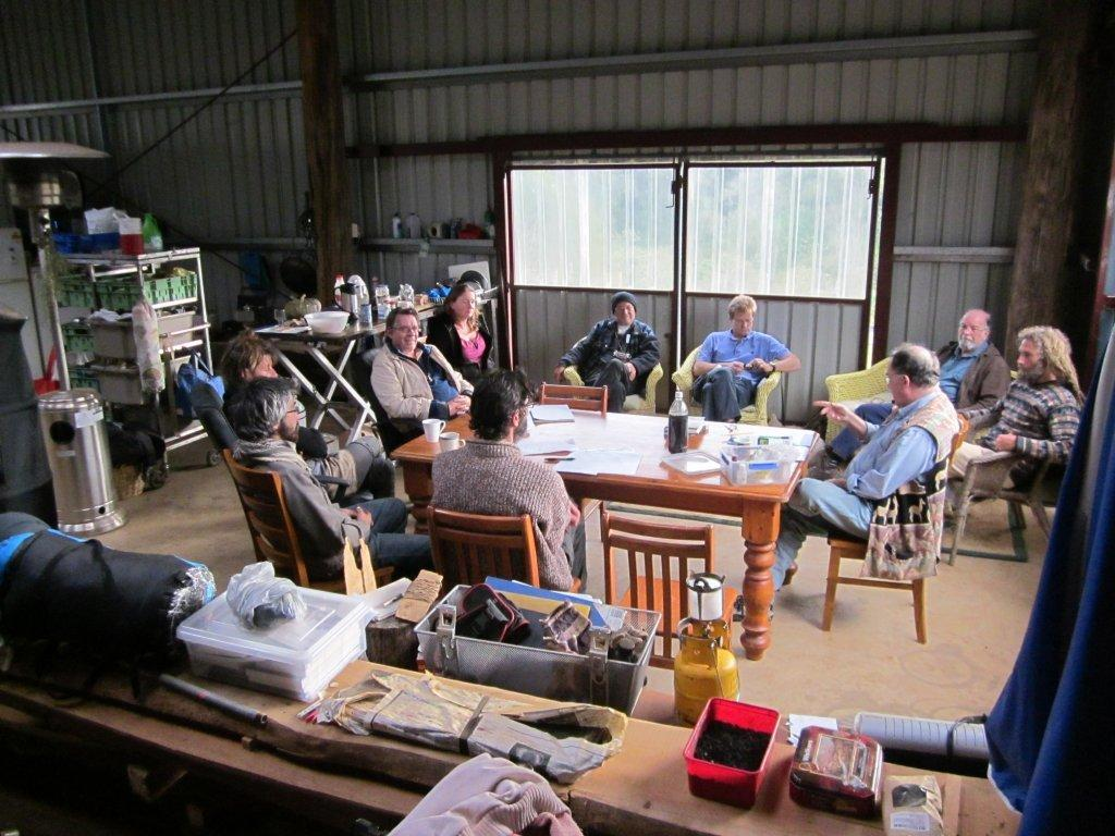 all the folks at biochar action learning circle